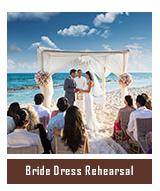 Bride Dress Rehearsal