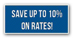 Save 10% on rates!