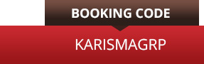 BOOKING CODE: KARISMAGRP