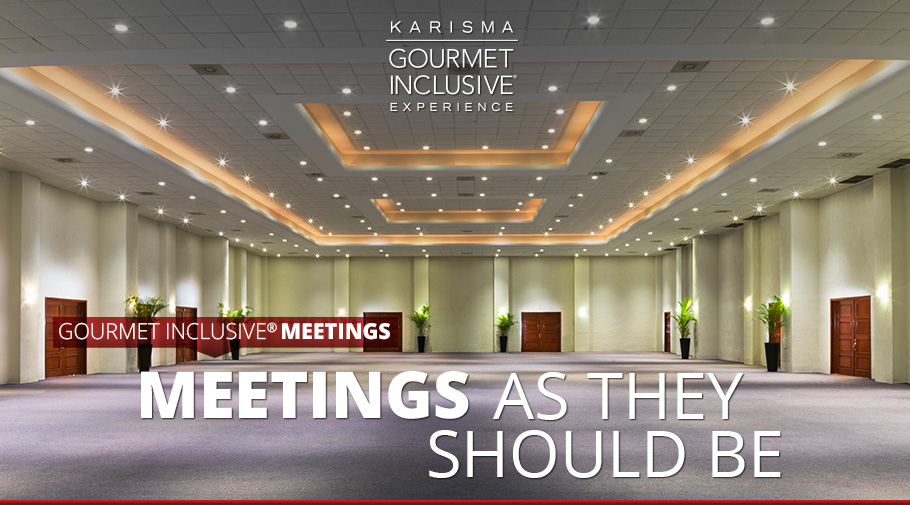Gourmet Inclusive®  Meetings