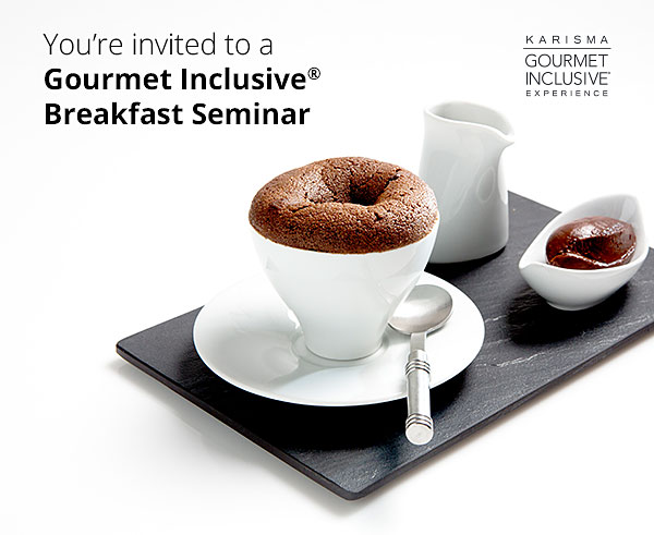 You are invited to a breakfast seminar